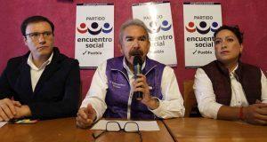 PES impugna elección en cuatro distritos locales; va por anulación