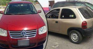 SSP recupera 3 vehículos y asegura a uno por conducir auto robado