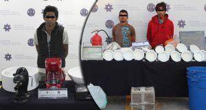 En diferentes acciones, detienen a 3 probables asaltantes en La Paz