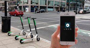 Uber invertirá en Lime para ofrecer renta de scooters desde su app