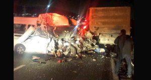 Chofer sería responsable de accidente en la México-Pachuca: Fiscalía