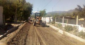 Antorcha gestiona alcantarillado y adoquinamiento en Ajalpan