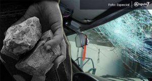 Ssptm alerta sobre ataques con piedras a vehículos en periférico