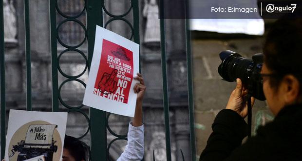 Artículo 19 suma 143 agresiones en Puebla