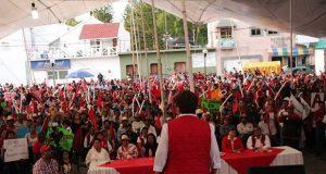 Alondra Méndez, nueva alcaldesa de Tepexi de Rodríguez: Antorcha