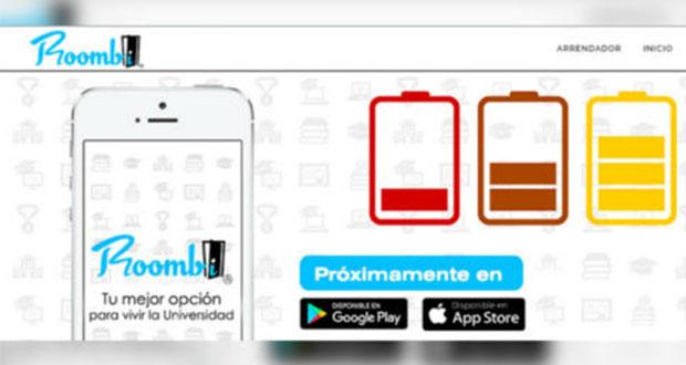 Alumnos del IPN crean Roombi, app para buscar casas en renta