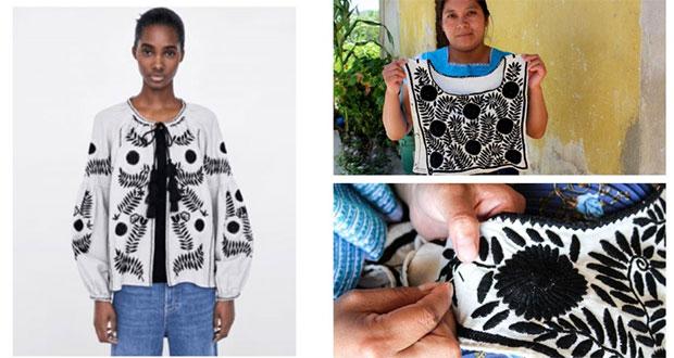 Por 2ª vez, artesanas de Chiapas acusan a Zara de plagiarles bordado