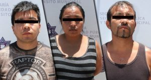 En prisión, banda vinculada con 12 atracos a tiendas Oxxo en Puebla