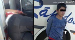 Asesinan en asalto a conductor de Estrella Roja en Texmelucan; detienen a uno