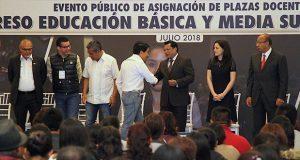 Proceso de asignación de plazas para docentes fue transparente: INEE