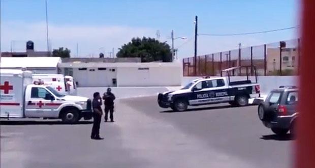 Tras asalto, delincuentes balean a comandante policial de Tepanco