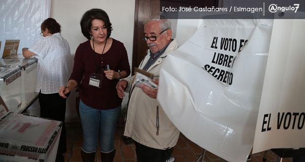 INE en Puebla reporta 97.1 por ciento de casillas abiertas y 40 incidentes