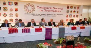 Conago respalda a AMLO y promete cooperar con su gobierno