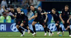 Croacia liquida a Rusia en penales y va a semis junto a Inglaterra
