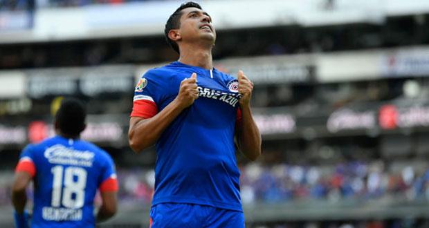 En inicio de Liga MX, Cruz Azul golea 3-0 al Puebla en el Azteca