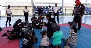 En curso de verano, 160 niños se gradúan como policías voluntarios
