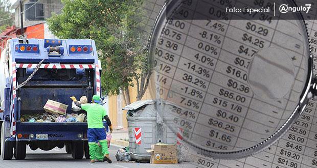 Comuna de Tehuacán demandará a empresa de limpia por desvió de recursos