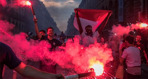 Festejos por título de Francia dejan 2 muertos, saqueos y disturbios