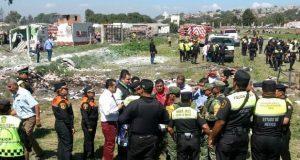 Suman 24 muertos y 49 heridos por explosión de polvorín en Tultepec
