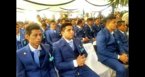 Ceremonia de graduación de la generación de los 43 de Ayotzinapa