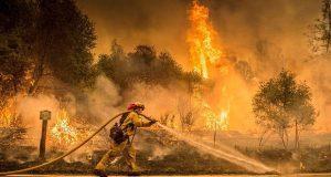Incendio en California quema 36 mil hectáreas y van 6 muertos
