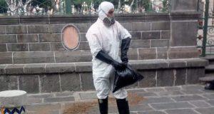Toma sustancia junto a Catedral y muere; tóxico afecta a paramédico