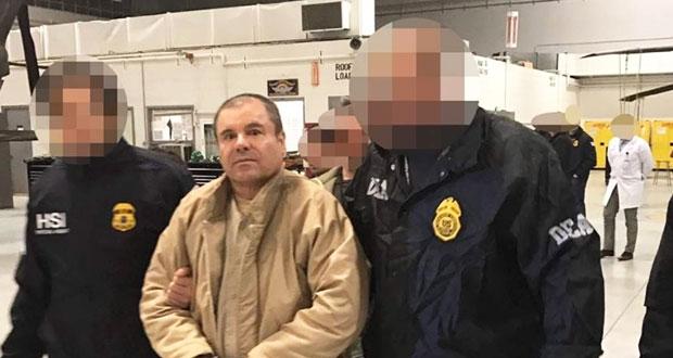 """Corte de NY aplaza dos meses comienzo del juicio de """"El Chapo"""""""