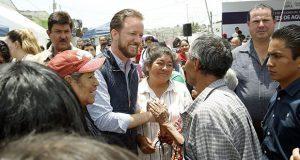 Inicia instalación de captadores de agua pluvial en Barranca Honda