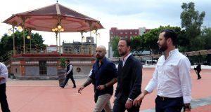 Avanza a 95% rehabilitación del Paseo Bravo de Puebla capital