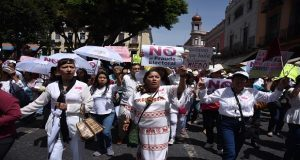 """En 3ra marcha contra """"fraude"""", Biestro convocará a una con dirigentes"""