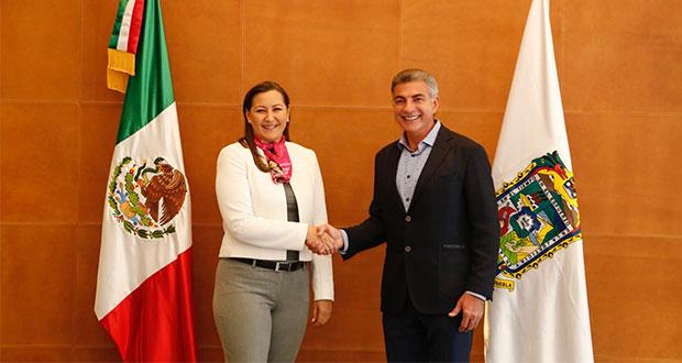 Martha Erika se reúne con Gali para iniciar agenda de transición