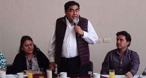 No daré un paso atrás en impugnación de gubernatura: Barbosa