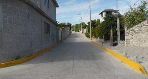 Alcaldesa de Tepexi entrega obras en barrio San Vicente