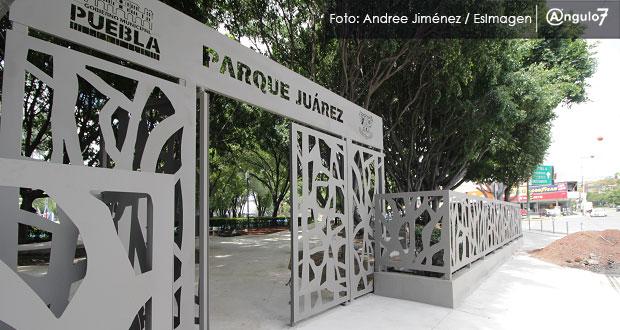Cabildo de Puebla aprueba rentar espacio para cafetería en Parque Juárez