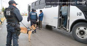 Últimos asaltos a transporte serían cometidos por centroamericanos: Ssptm
