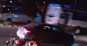 Persecución y balacera deja dos policías heridos en la 11 Sur