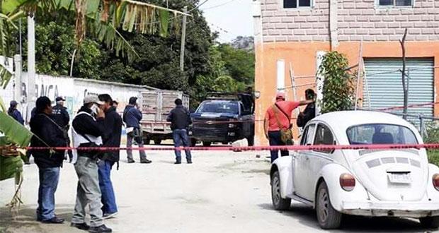 FGE investiga la ejecución de 3 policías de Huehuetlán El Grande
