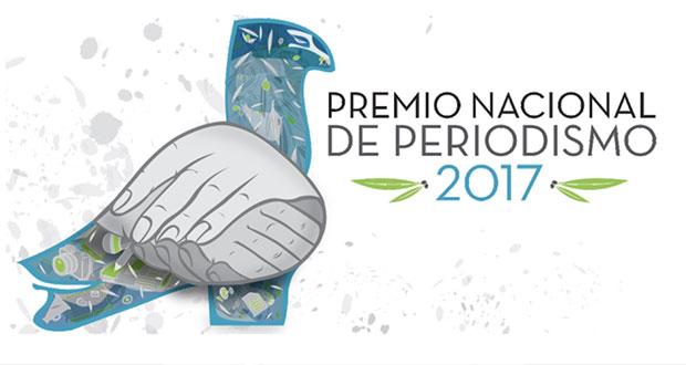 Abren convocatoria para el Premio Nacional de Periodismo 2017