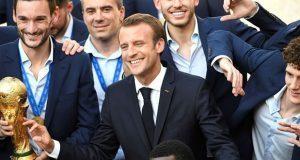Tras triunfo en Mundial, cae popularidad del presidente de Francia