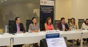 Emprenden protocolo para atender violencia contra mujeres en Puebla
