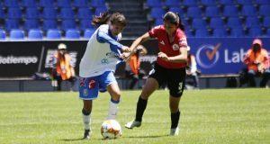 Puebla femenil iguala sin goles ante Lobos BUAP en primer clásico