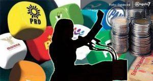 PRI, PT, MC y NA incumplen en destinar 3% de recursos para impulsar mujeres