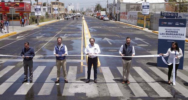 Terminan rehabilitación en avenidas 16 de Septiembre y Margaritas