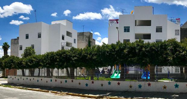 Al 95%, reparación en Infonavit de Atlixco tras sismo: Antorcha
