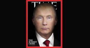Tras reunión, revista TIME fusiona a Trump y Putin en su portada