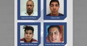 Dan 48 años de prisión a 4 por secuestro en universidad en 2013