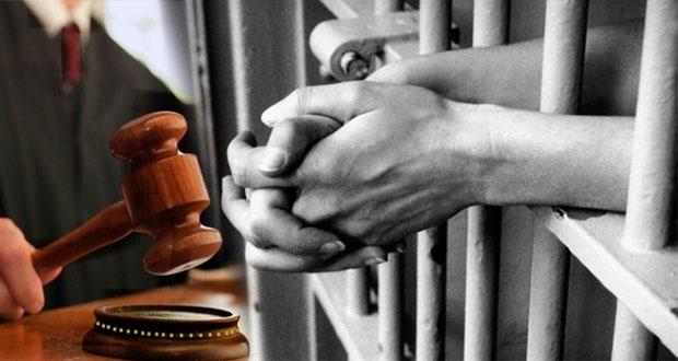 Dan sentencia de 13 años a homicida y prisión preventiva a mujer
