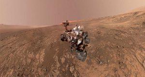 Descubren agua líquida en polo sur de Marte