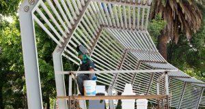 En Puebla se trabaja para recuperar espacios públicos: Gali