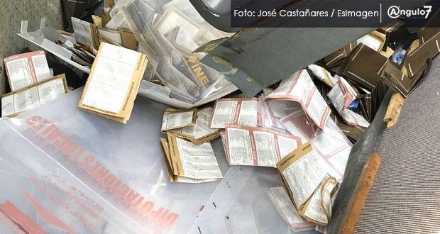 Siete municipios cancelan cómputos; robaron 64 urnas de gubernatura: IEE
